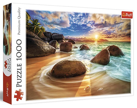 Trefl 1000 Piece Jigsaw Puzzle: Samudra Beach India