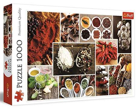 Trefl 1000 Piece Jigsaw Puzzle: Spices Collage