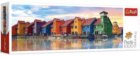 Trefl 1000 Piece Panorama Jigsaw Puzzle: Groningen Netherlands