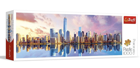 Trefl 1000 Piece Panorama Jigsaw Puzzle: Manhattan