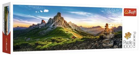 Trefl 1000 Piece Panorama Jigsaw Puzzle: Passo Di Giau Dolomites