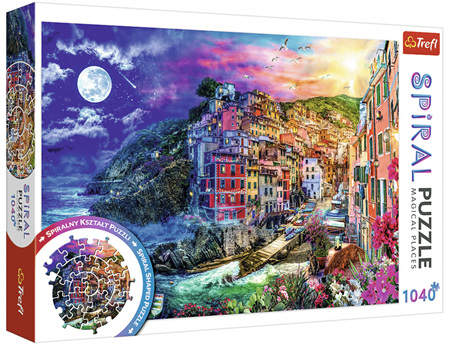 Trefl 1040 Piece  Spiral Jigsaw Puzzle: Magic Bay