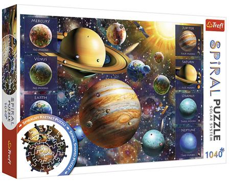 Trefl 1040 Piece  Spiral Jigsaw Puzzle: Solar System