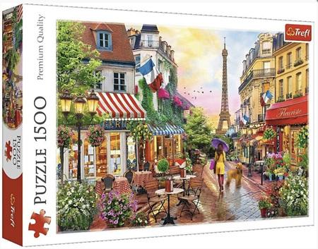 Trefl 1500 Piece Jigsaw Puzzle: Charming Paris