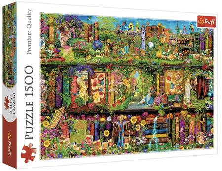 Trefl 1500 Piece Jigsaw Puzzle: Fairy Bookcase