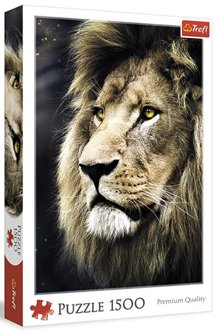 Trefl 1500 Piece Jigsaw Puzzle: Lions Portrait