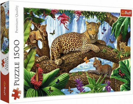 Trefl 1500 Piece Jigsaw Puzzle: Resting Among The Trees