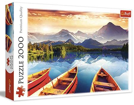 Trefl 2000 Piece Jigsaw Puzzle: Crystal lake