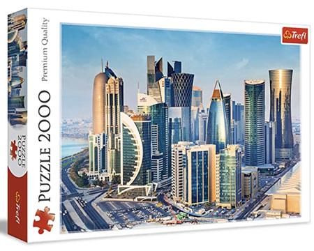 Trefl 2000 Piece Jigsaw Puzzle: Doha Qatar