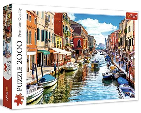 Trefl 2000 Piece Jigsaw Puzzle: Murano Island Venice