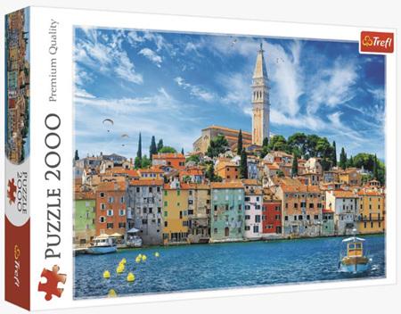 Trefl 2000 Piece Jigsaw Puzzle: Rovinj Croatia