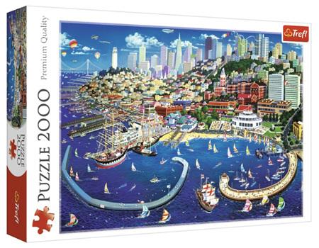 Trefl 2000 Piece Jigsaw Puzzle: San Francisco Bay