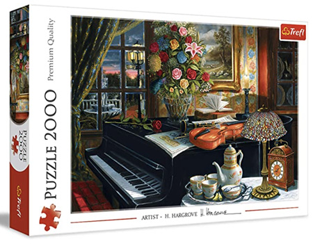 Trefl 2000 Piece Jigsaw Puzzle: Sounds Of Music