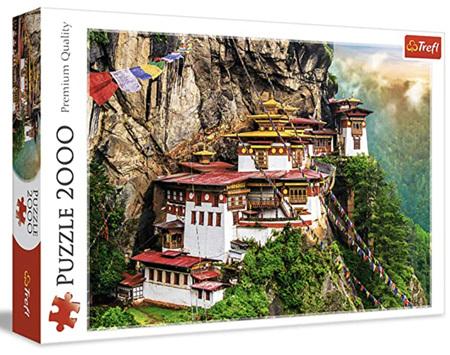 Trefl 2000 Piece Jigsaw Puzzle: Tiger's Nest Bhutan