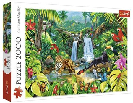 Trefl 2000 Piece Jigsaw Puzzle: Tropical Forest