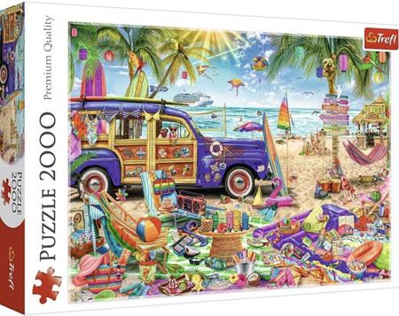 Trefl 2000 Piece Jigsaw Puzzle: Tropical Holidays