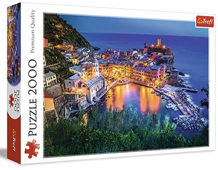 Trefl 2000 Piece Jigsaw Puzzle: Vernazza At Dusk