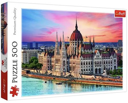 Trefl 500 Piece Jigsaw Puzzle: Budapest Hungary