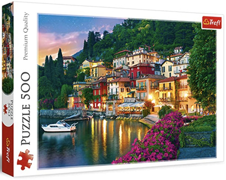 Trefl 500 Piece Jigsaw Puzzle: Lake Como Italy