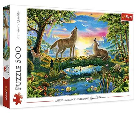 Trefl 500 Piece Jigsaw Puzzle: Lupine Nature