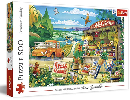 Trefl 500 Piece Jigsaw Puzzle: Morning In The Countryside