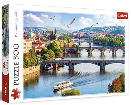 Trefl 500 Piece Jigsaw Puzzle: Prague