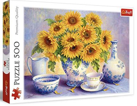 Trefl 500 Piece Jigsaw Puzzle: Sunflowers
