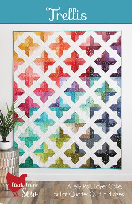 Trellis Quilt Pattern from Cluck Cluck Sew