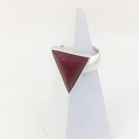 Triangle Ring - Coromandel Jasper