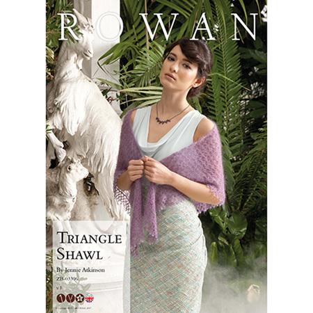 Triangle Shawl by Jennie Atkinson
