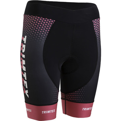 Triathlon Womens Shorts, Black / Pink