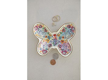 Trinket Bowl-Butterfly