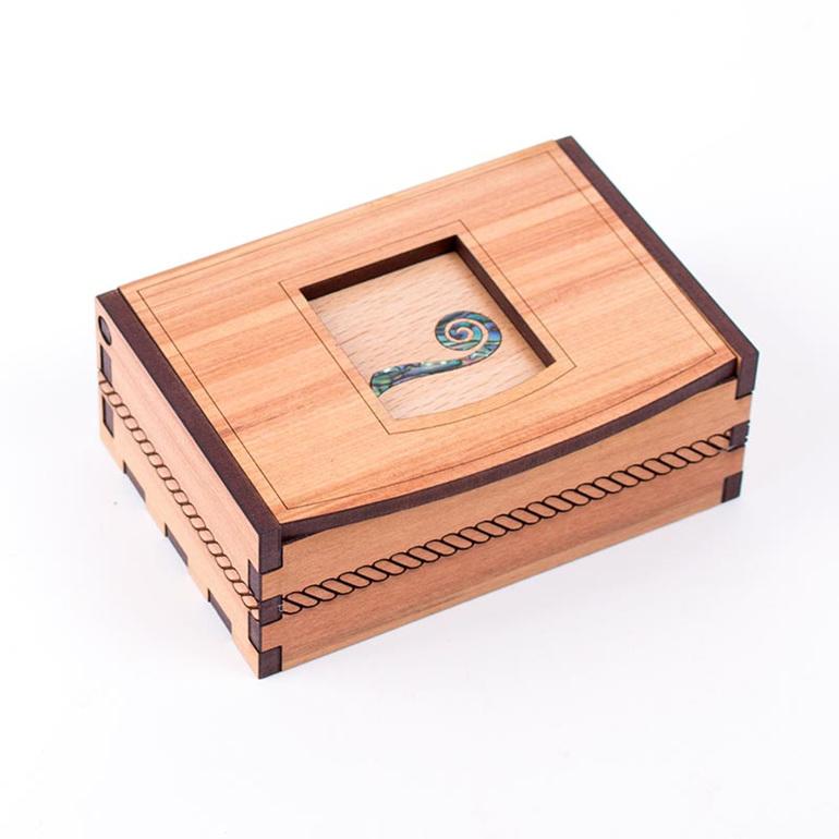 trinket box koru