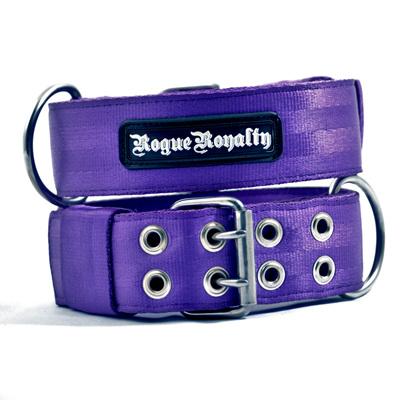 Rogue Royalty SupaTuff Purple Dog Collar