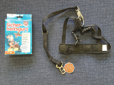 Trixie Harness with Seat Belt Attachment