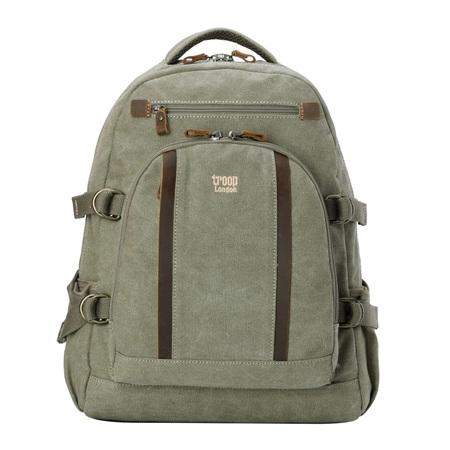 Troop London Classic Large Backpack - Khaki