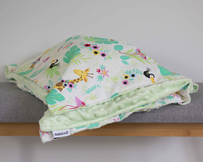 Tropical Blanket - Mint