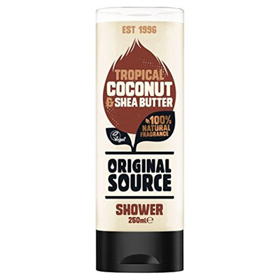 Tropical coconut & shea butter shower gel 250ml PLU8384