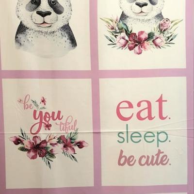 Tropical Zoo - Panda Panel