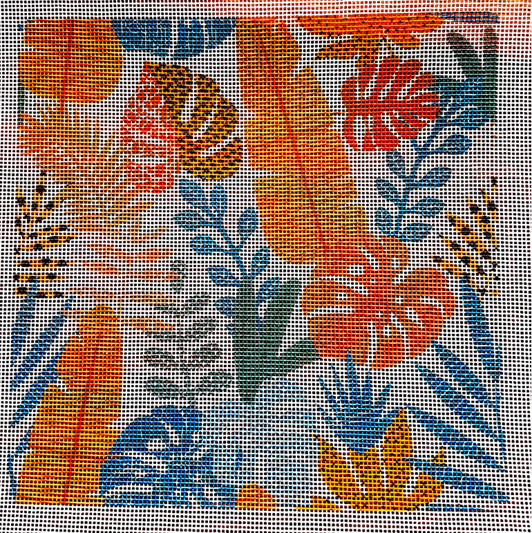 tropicana needlepoint