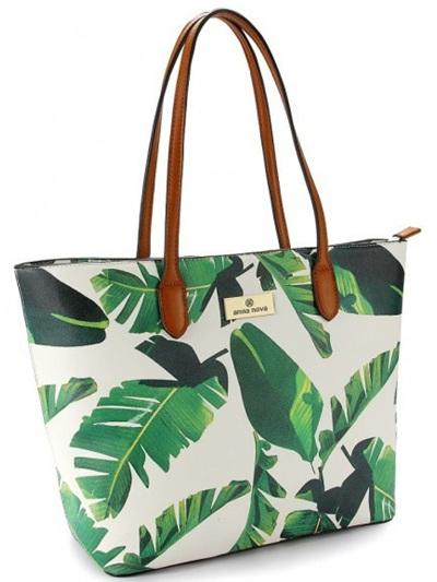Tropicana Tote Green