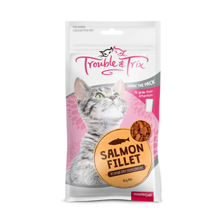 Trouble & Trix Salmon Fillet Treats