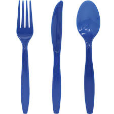 True Blue Cutlery Set