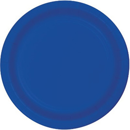 True Blue Dinner Plates x 24