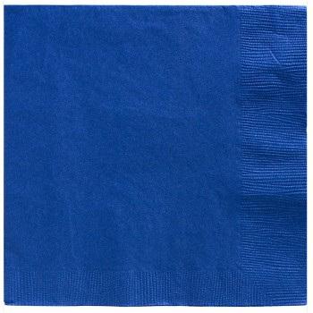 True Blue Lunch Napkins x 20