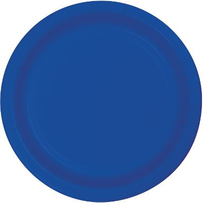 True Blue Lunch Plates x 24