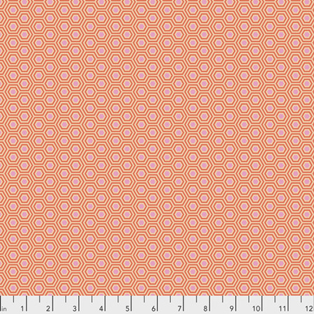 True Colours Hexy Peach Blossom PWTP150.PeachBlossom