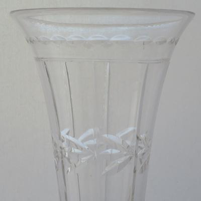 Trumpet shaped flower vases