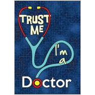 Trust Doctor Fridge Magnet