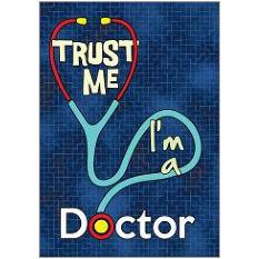 Trust Doctor Fridge Magnet